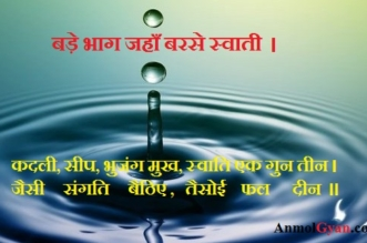 Water Drop Swati ki Varsha AnmolGyan