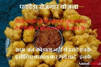 Pakora Remark in Hindi