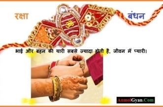 Raksha Bandhan Quotes In Hindi Anmolgyan
