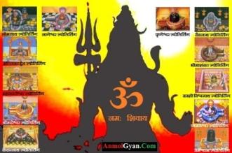 Shiv ke 12 Jyotirlinga Names in Hindi